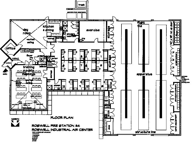 station floor plans simple 80 small fire station floor